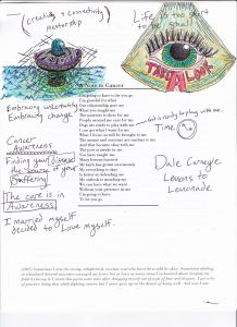 Sample page with co-creator notes...